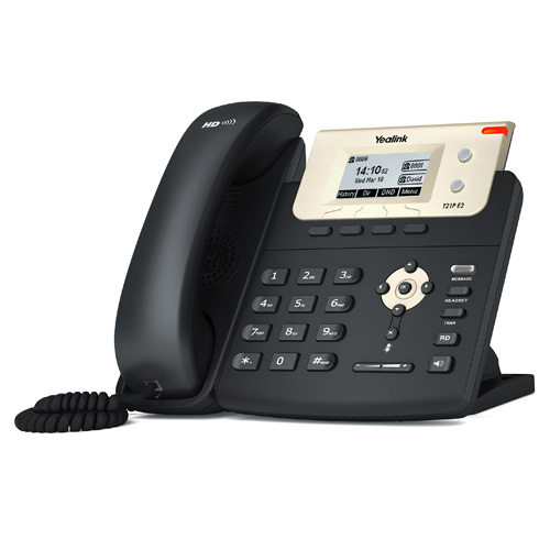 IP phone Yealink T21P E2 with 2 Lines & HD voice